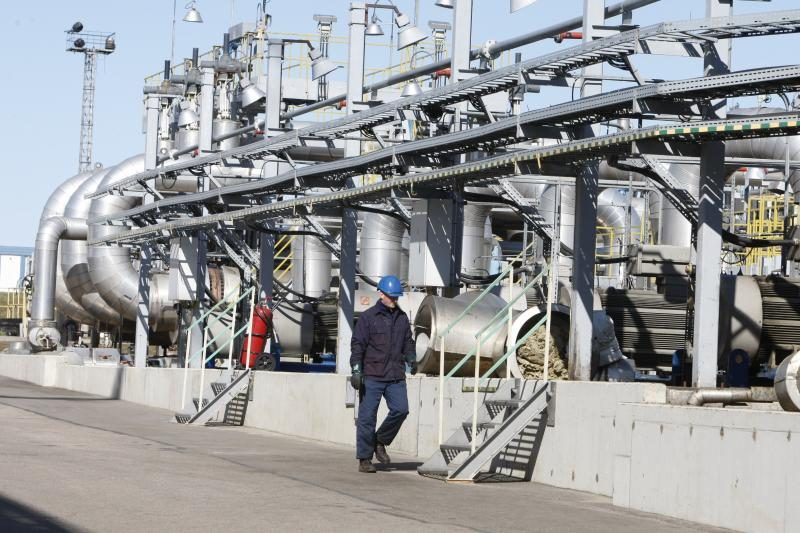 Apdraustas suskystintų gamtinių dujų terminalas