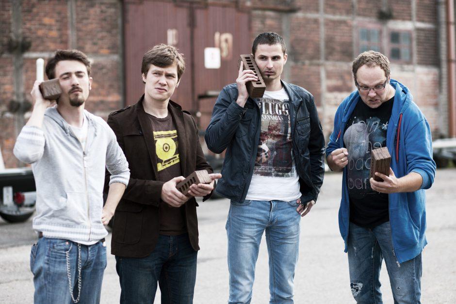 Klaipėdos rokeriai apie save primena įrašais DATA juostose