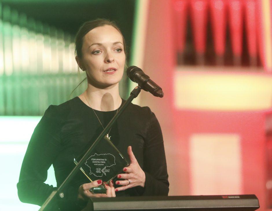 """Projekto """"Kryptis Lietuva"""" apdovanojimų vakaras"""