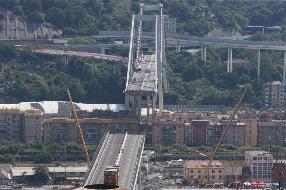 Genujos prokuratūros tyrime dėl pražūtingos viaduko griūties figūruoja 20 žmonių
