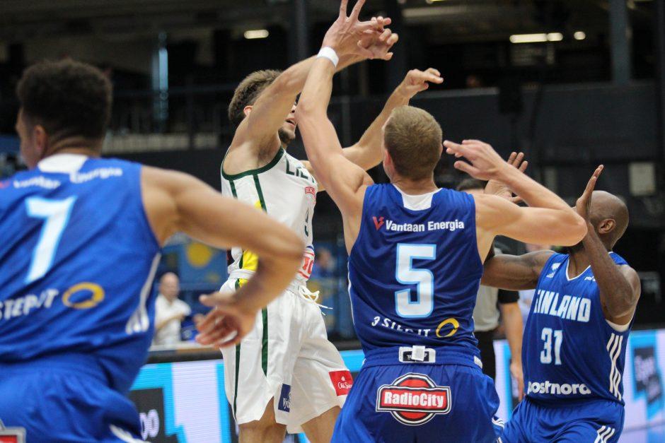 """Vilniaus """"Perlas"""" pralaimėjo Suomijos krepšininkams"""