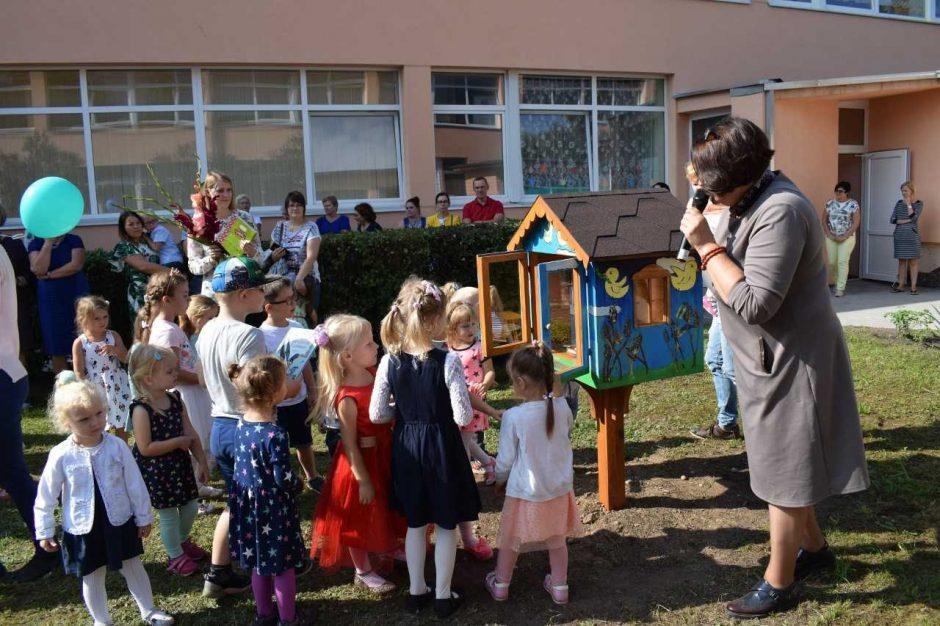 Kaune atidaryta jau šeštoji oficiali tarptautinio tinklo bibliotekėlė