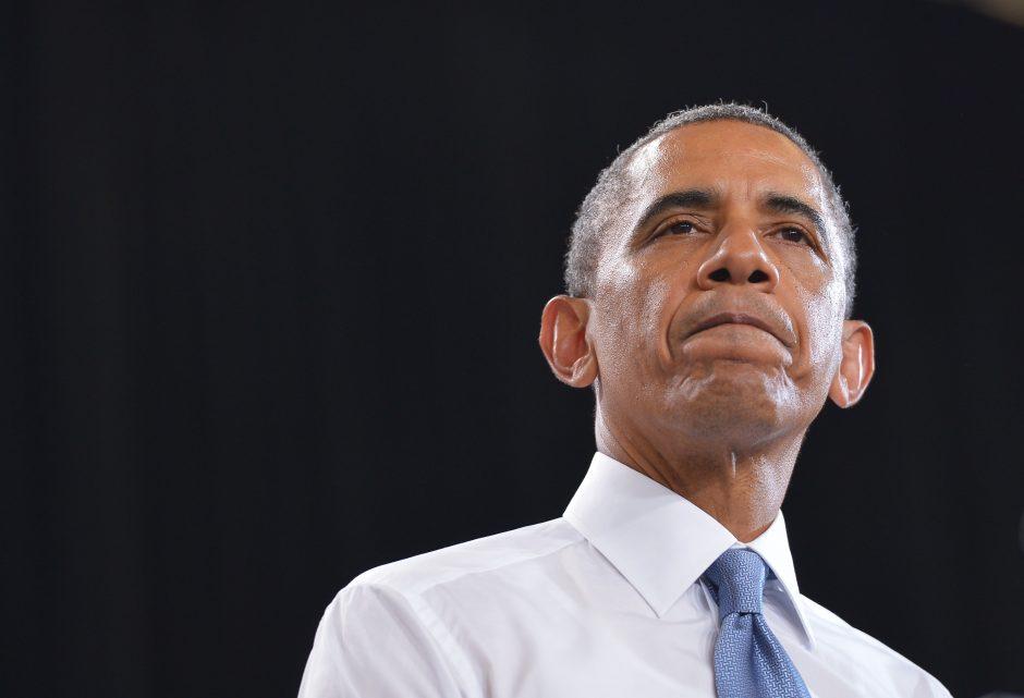"""Kremlius """"nusivylęs"""" dėl B. Obamos vizito Maskvoje atšaukimo"""