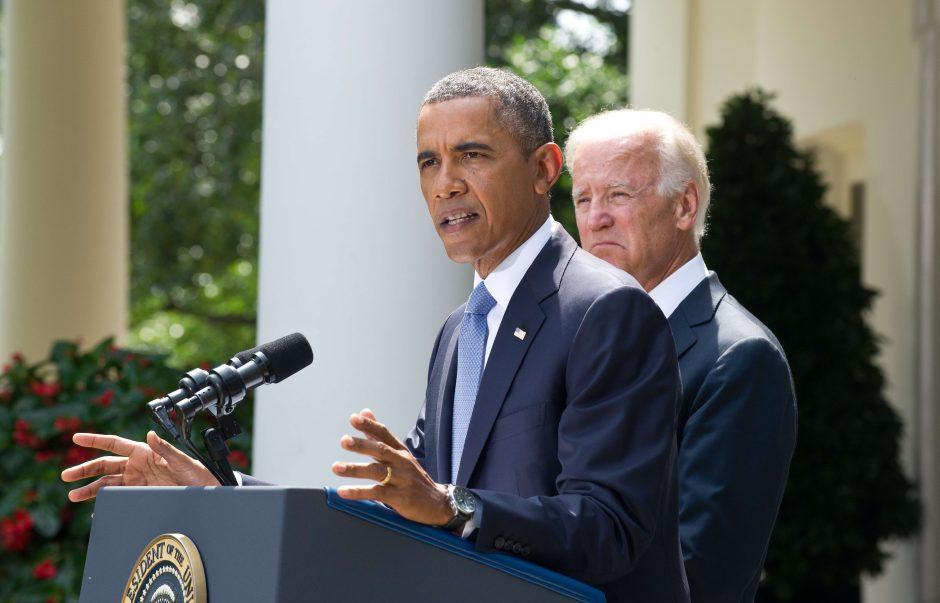 B. Obama paprašė Kongresą sankcionuoti karinius veiksmus prieš Siriją