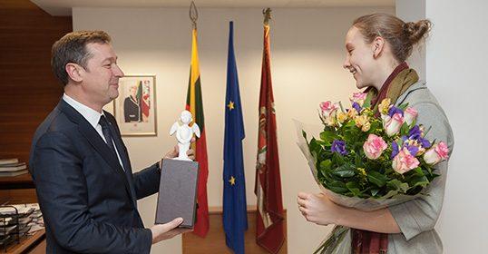 Vilniaus klubo krepšininkei S.Aleksandravicius suteikta Lietuvos pilietybė