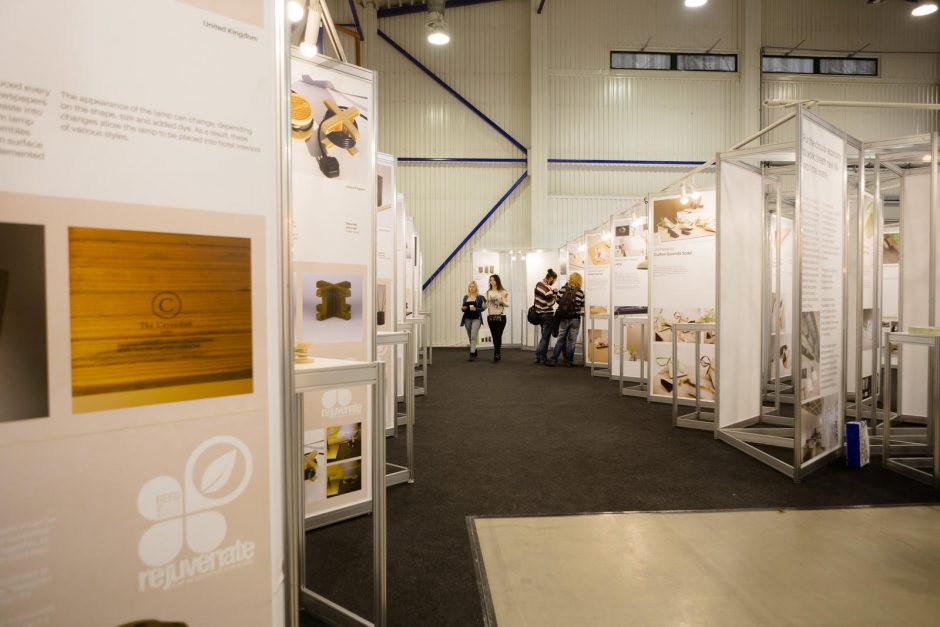 Tarptautinėje parodoje – perdirbti dizaino objektai viešbučiams