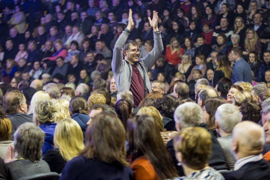 F.Kirkorovo koncertas Kaune