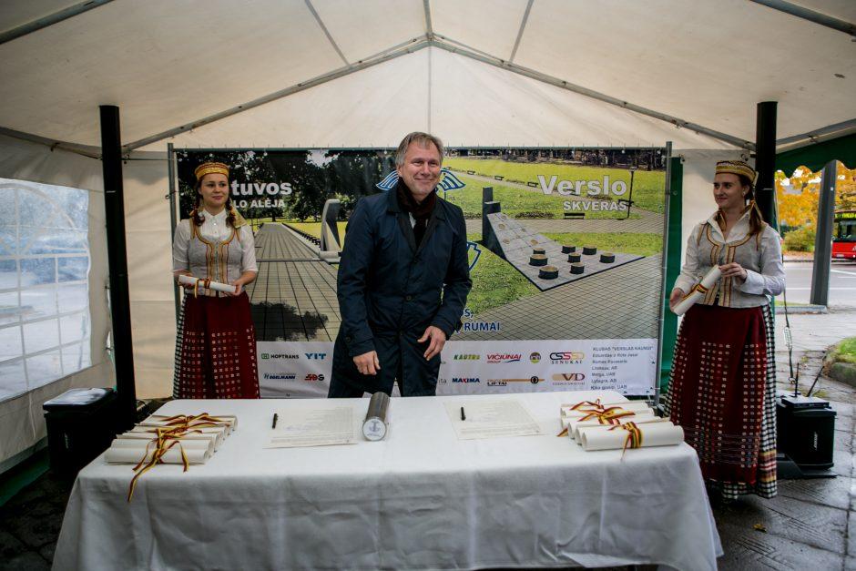 Kaune duotas startas Verslo alėjos įkūrimui