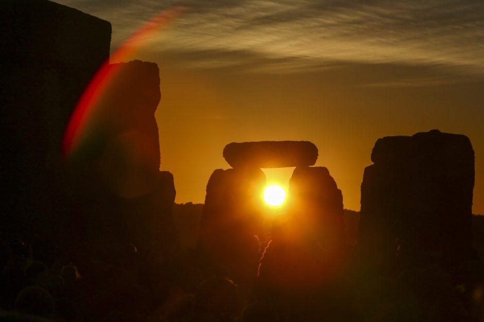 Vasaros saulėgrįžos paminėjimas Stounhendže