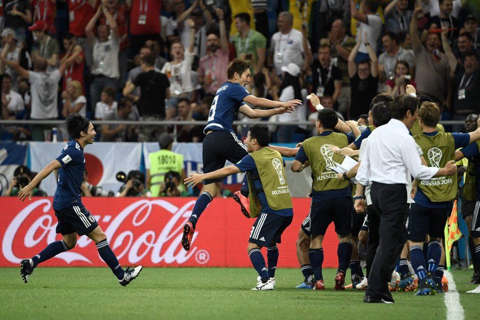 Pasaulio futbolo čempionato aštuntfinalis: Belgija – Japonija