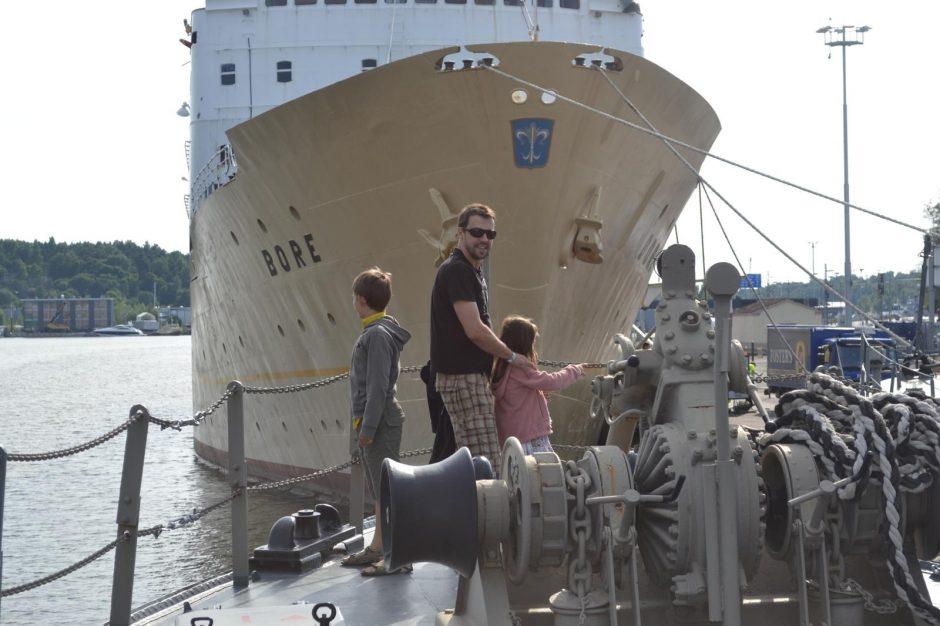 T. Ališauskas savo vaikus pradžiugino kelione į Muminukų šalį