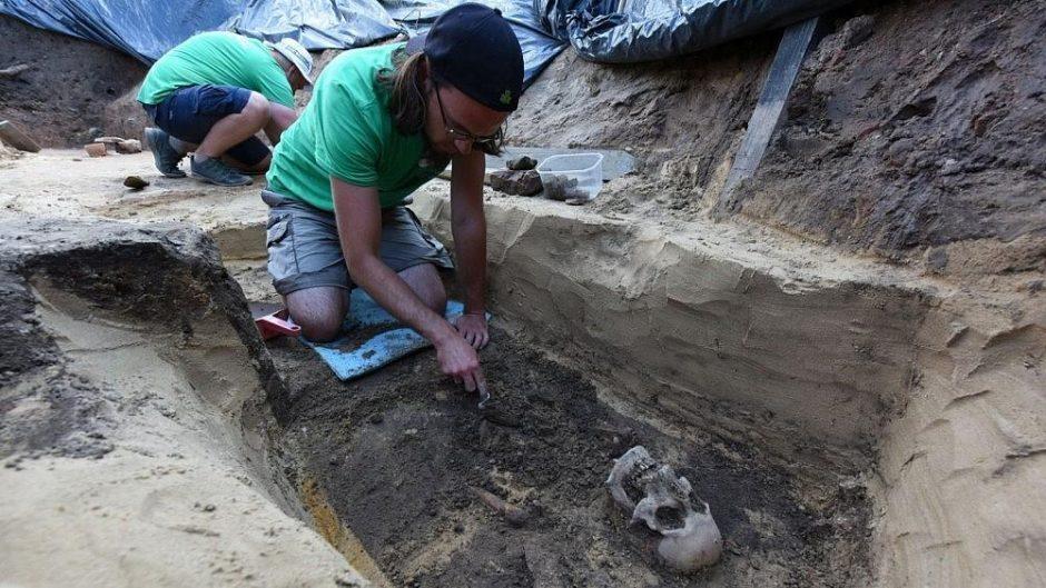 Sukilėlių palaikai iš Gedimino kalno: archeologai atskleis tyrimo detalių