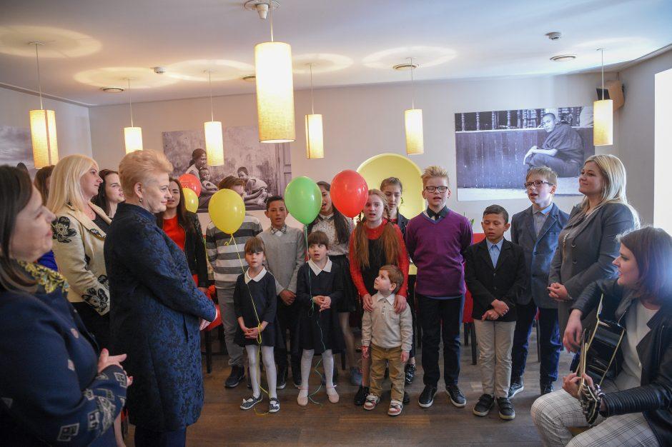 """Prezidentės inicijuotai kampanijai """"Už saugią Lietuvą"""" – dveji"""