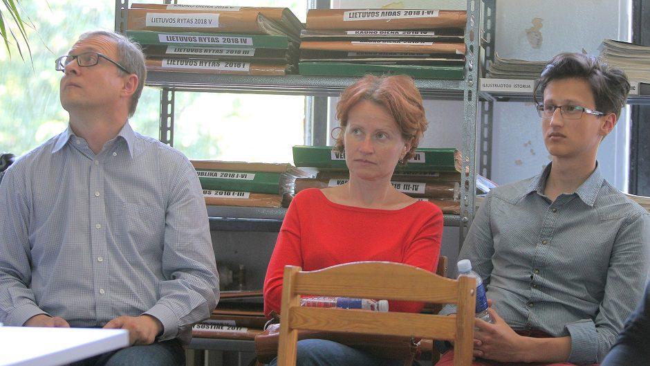 Diskusija apie lietuvių kalbos idealus