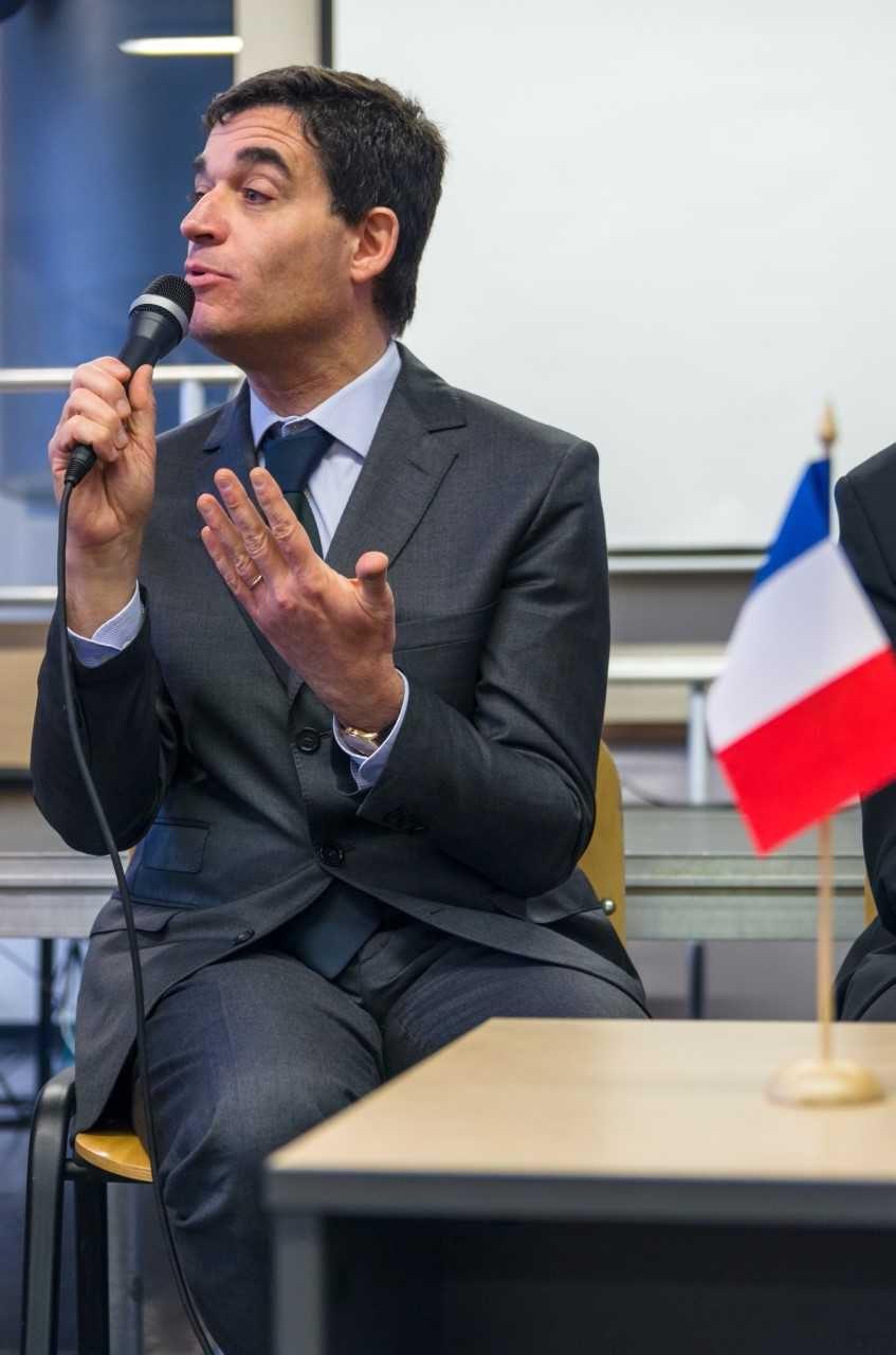 Ambasadoriaus pamoka gimnazistams – prancūziškai