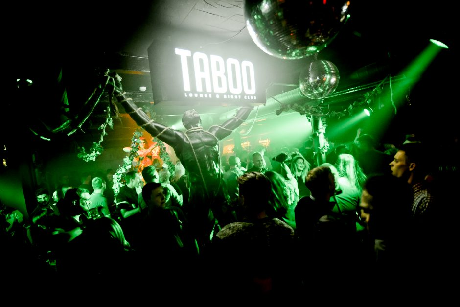 """""""Taboo"""" klubas virto džiunglėmis"""