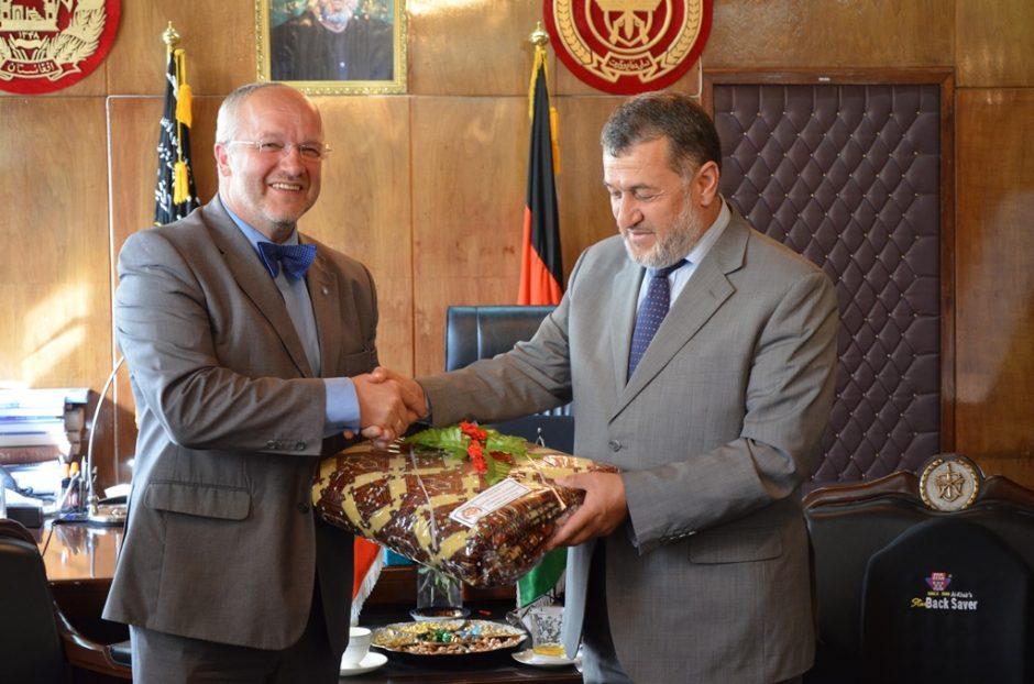 Krašto apsaugos ministras J. Olekas lankys Afganistane tarnaujančius lietuvius