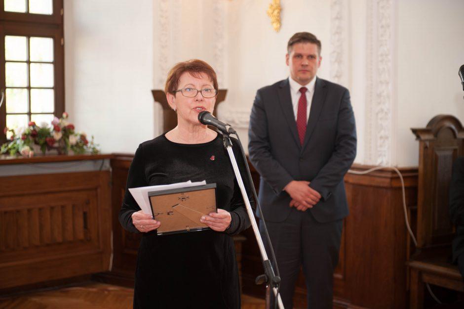 Kauno rotušėje – Nuoširdžiausio Kauno gydytojo apdovanojimai