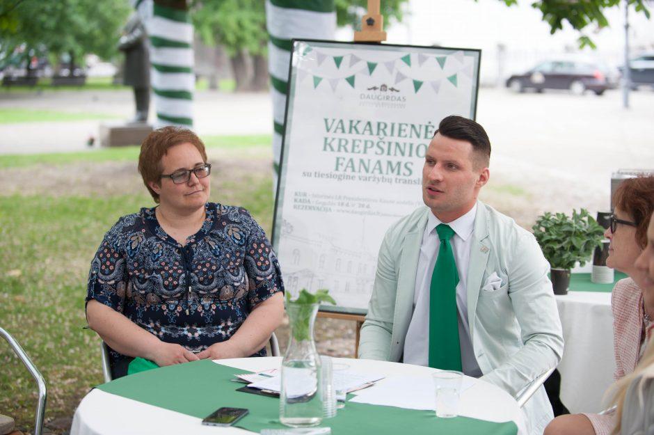 """""""Kauno Hanzos dienų 2018"""" spaudos konferencija"""