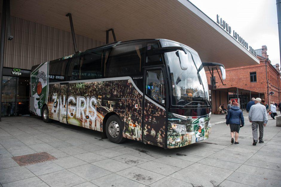 Naujasis ''Žalgirio'' autobusas