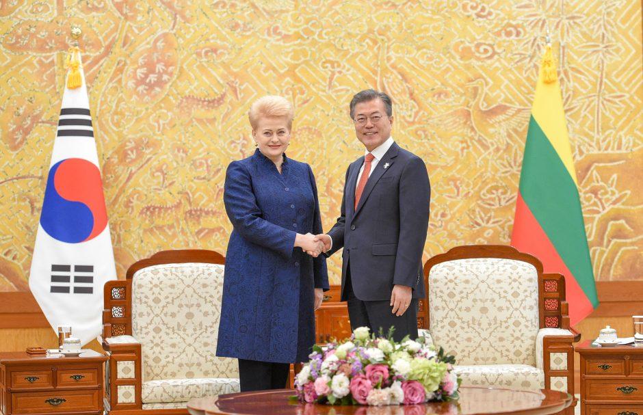 D. Grybauskaitės vizitas Pietų Korėjoje