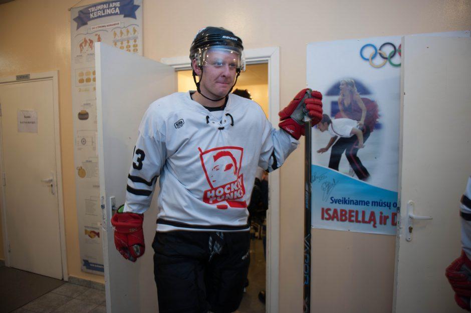 """Kaunas Hockey"" - Vilniaus ""Hockey Punks"" 3:2"