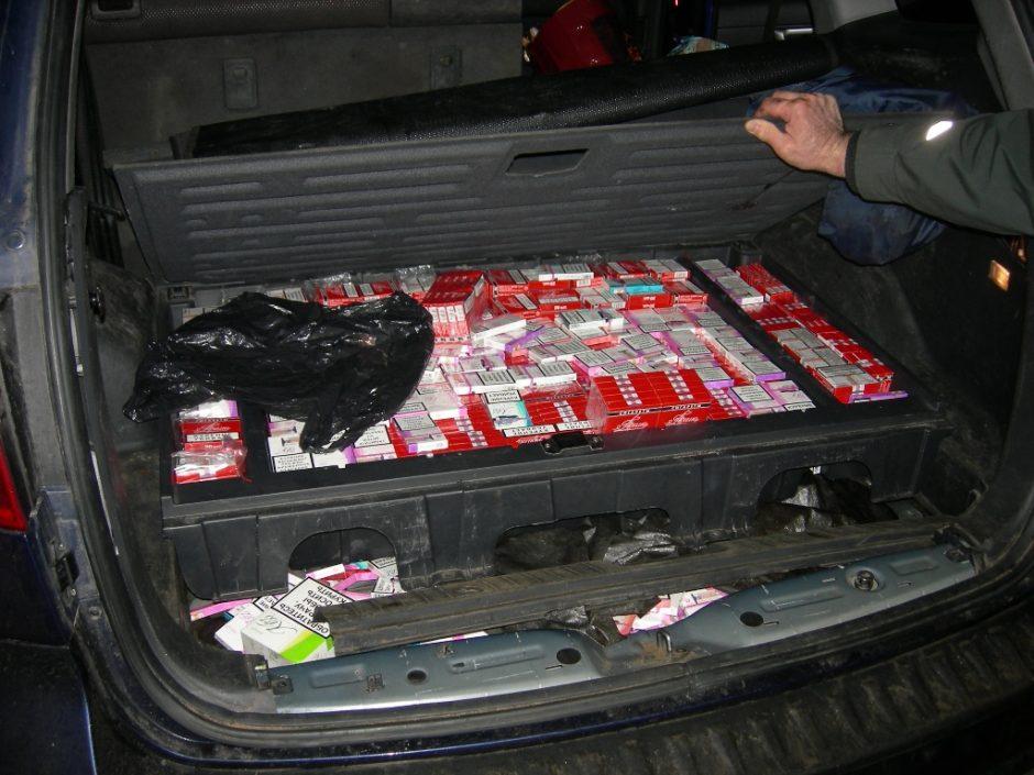 Cigarečių kontrabandininkų išradingumui nėra ribų