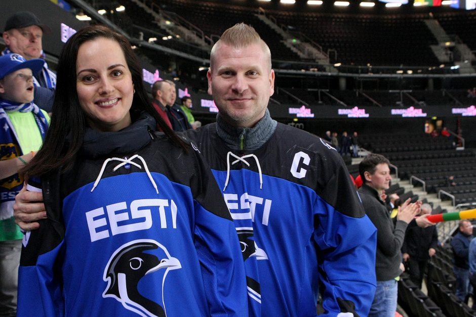 Ledo ritulys: Estija – Rumunija 1:0