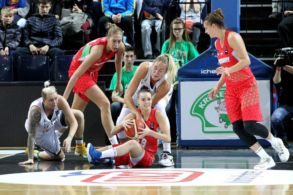 Moterų EČ atranka: Lietuva – Vengrija 70:73
