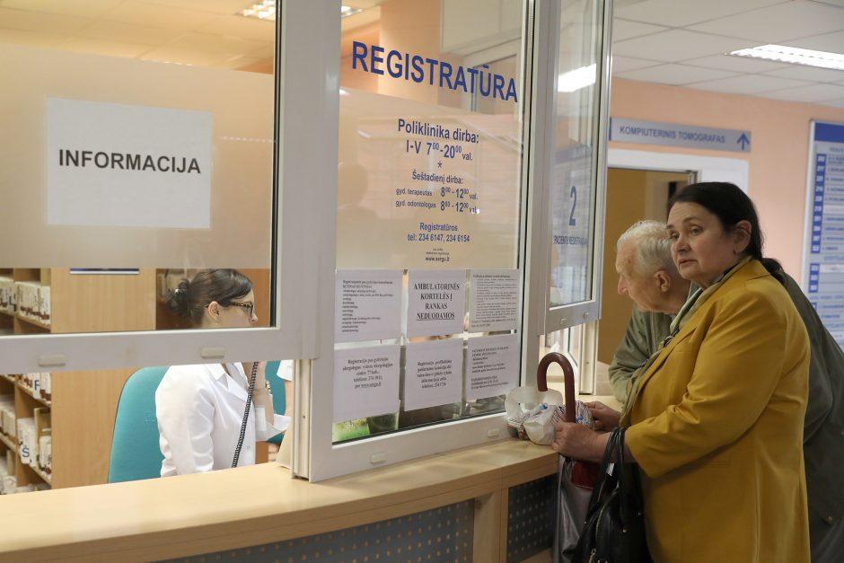 """""""Valstiečiai"""" ragina atidėti sankcijas gydymo įstaigoms"""