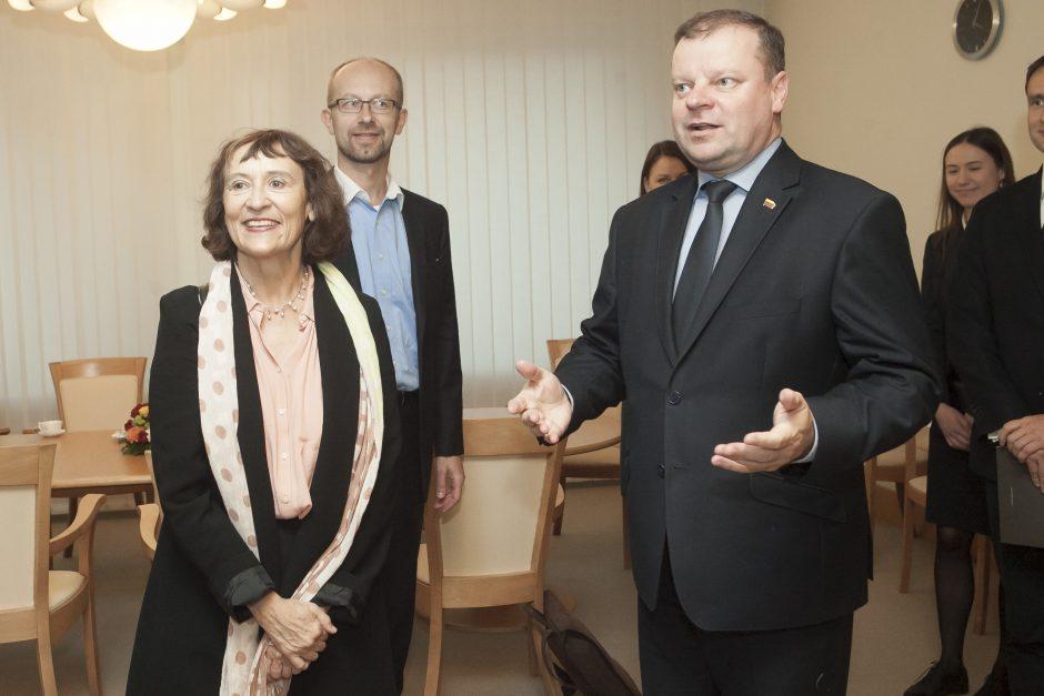 """S. Skvernelis kviečia """"Google"""" kartu diegti mokymų programas Lietuvoje"""