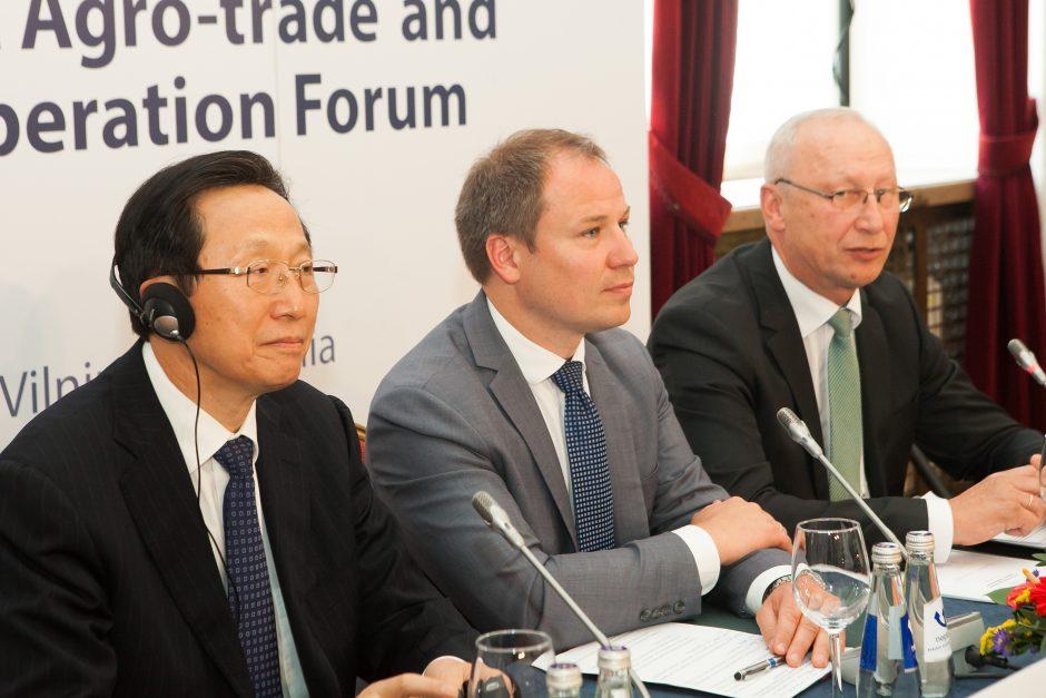 """Žemės ūkio ministrų forumas """"16+1"""""""