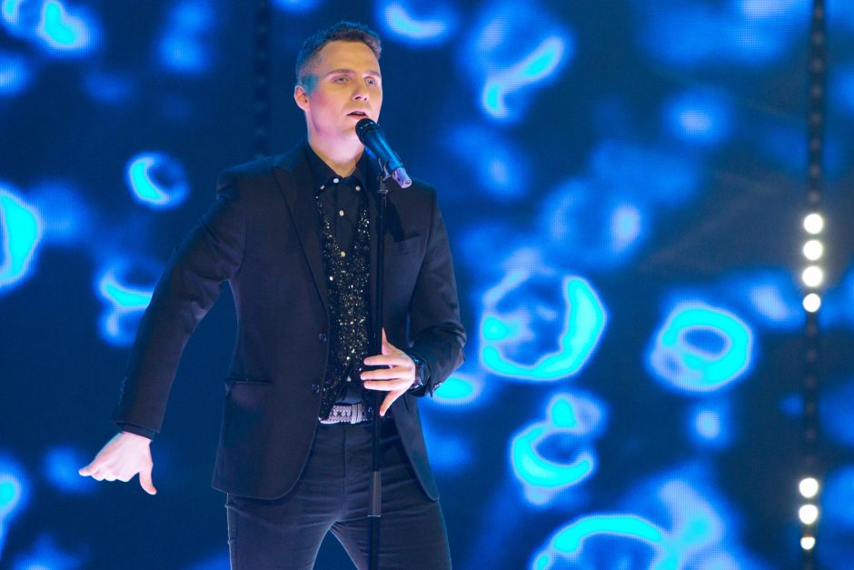 """""""Eurovizijos"""" filmavimas LRT didžiojoje studijoje"""