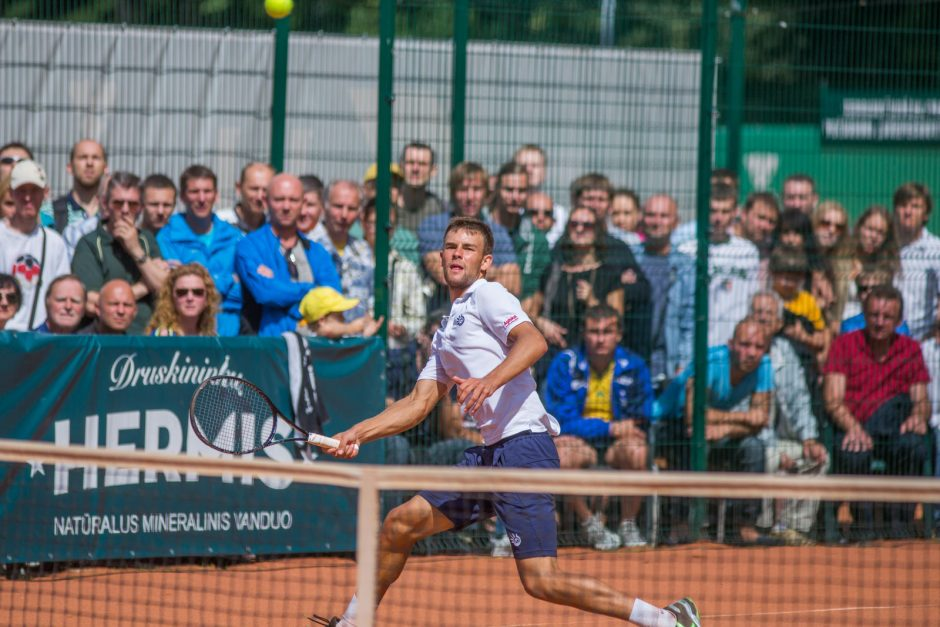 Prezidento taurės turnyrą Lietuvoje laimėjo L. Grigelis