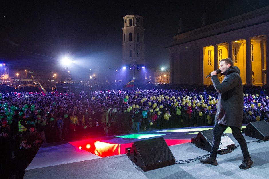 Koncertas Katedros aikštėje