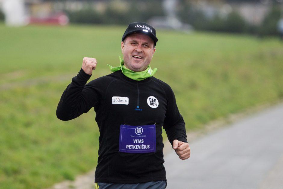 Boso dieną – įmonių vadovų bėgimo varžybos