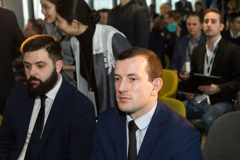 """Sostinėje atidarytas pirmasis Lietuvoje """"Blockchain"""" centras"""