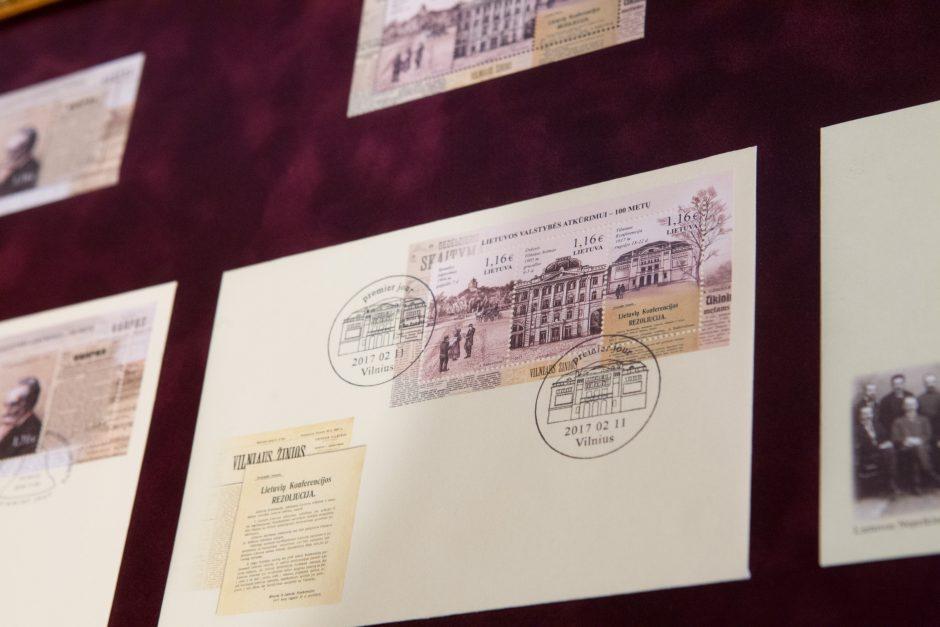 Išleista proginė pašto ženklų serija