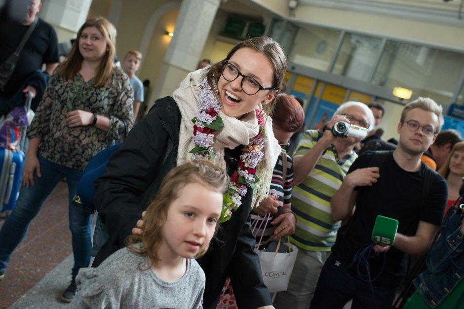 I. Zasimauskaitė sugrįžo į Lietuvą