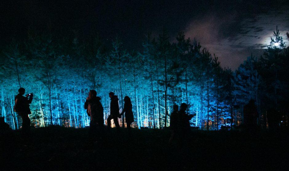 Vilniaus pakraštys nušvito stebuklingomis spalvomis