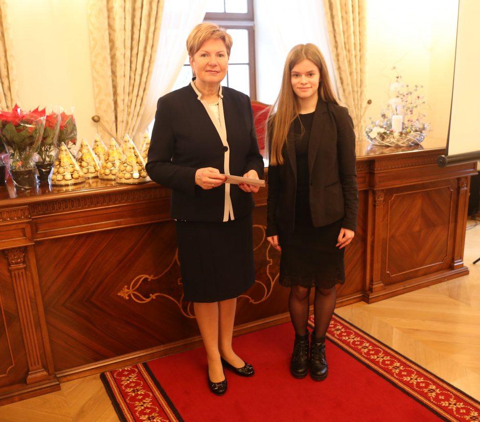Talentingiems Kauno rajono mokiniams – kalėdinės stipendijos