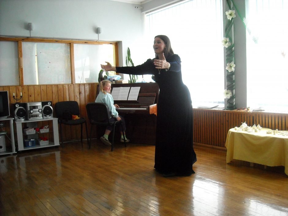 S. Trimakaitės koncertas Menų akademijos koncertų salėje