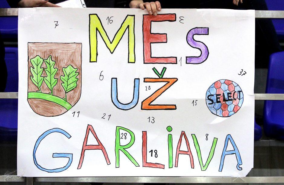 "LMRL: ""Garliava"" – ""Žalgiris"" 24:27"