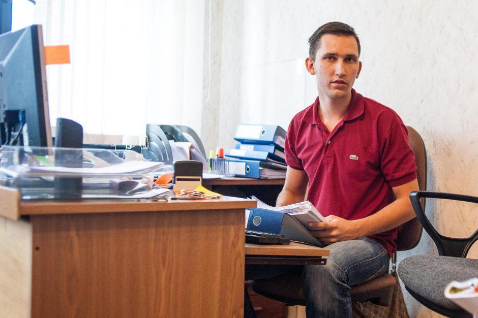 Kauno politiko sūnų atleidžia dėl tinginystės