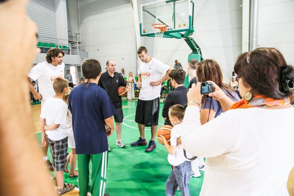 D. Motiejūno talentų stovykla