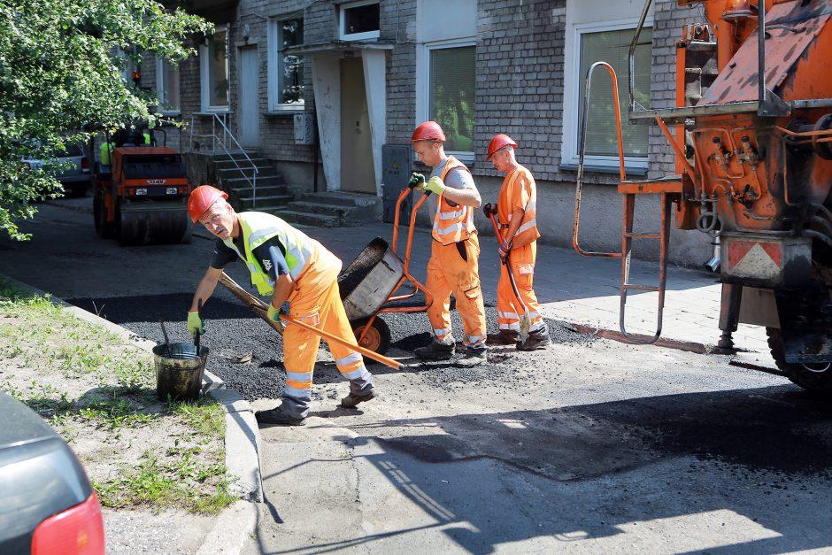 Situacija kiemuose: remonto darbai atsilieka dešimtmečiu