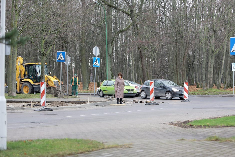 Mieste – eismo pokyčiai