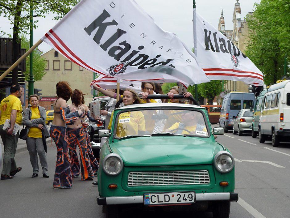 Uostamiestis pretenduoja tapti Europos kultūros sostine