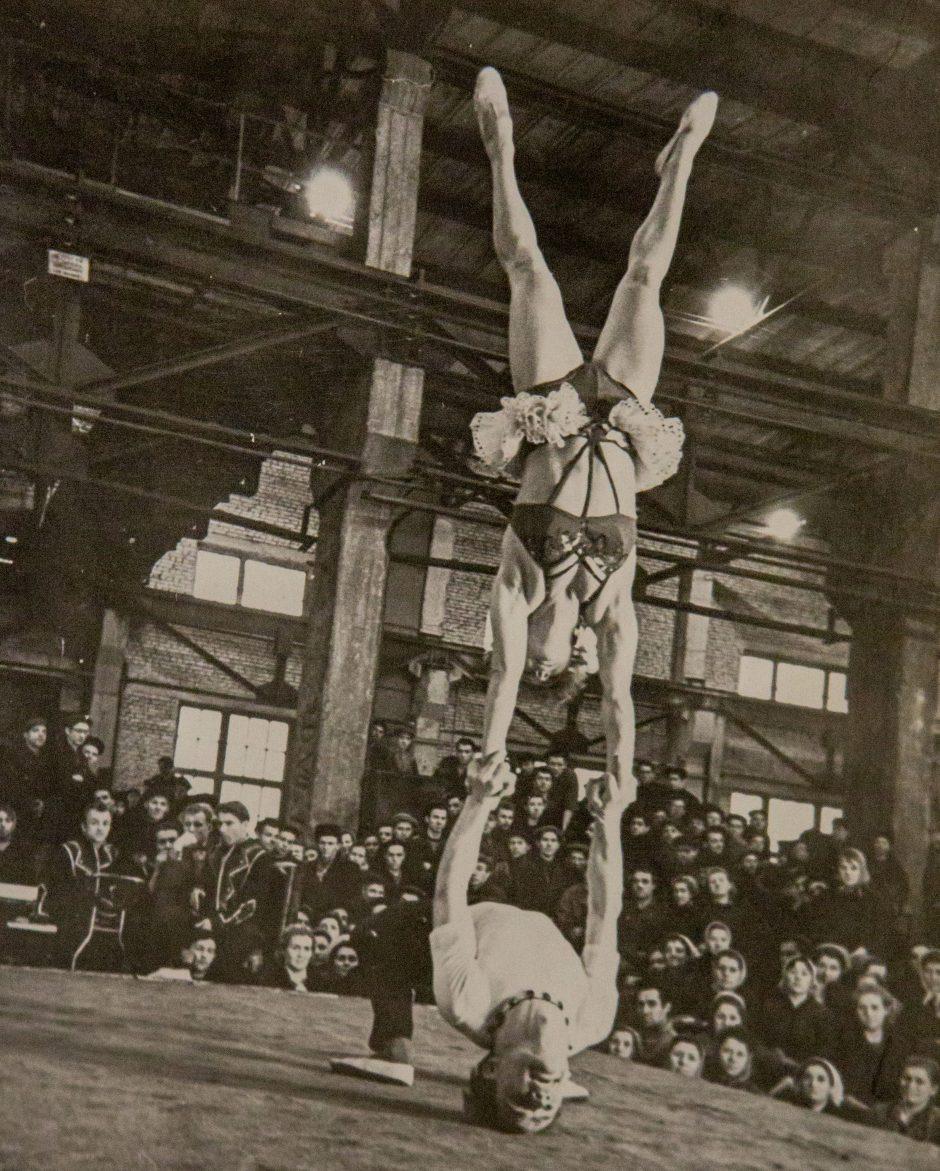 Buvęs laisvės kovų dalyvis netikėtai tapo cirko artistu