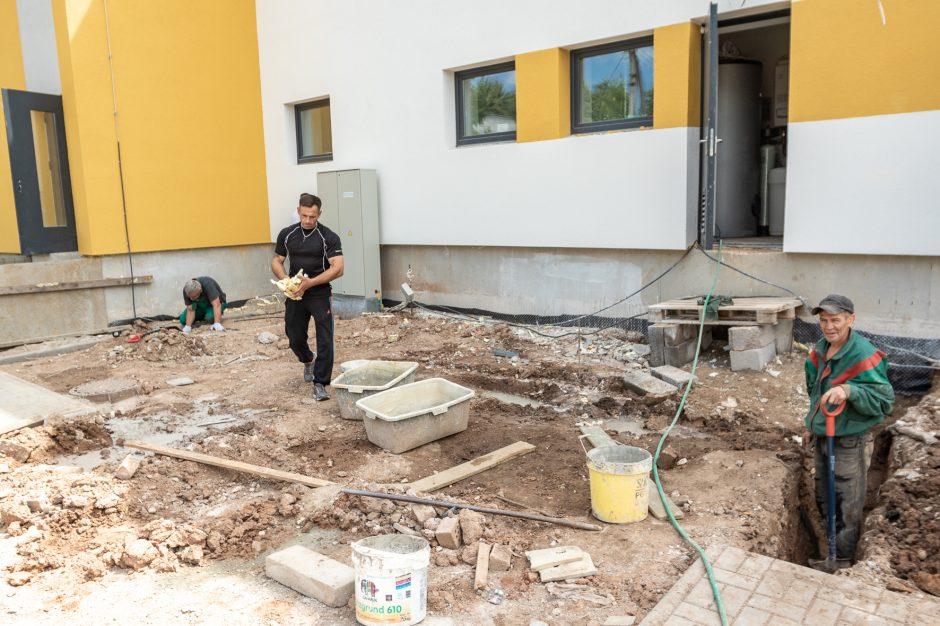 Socialinių būstų statybos Batniavoje – finišo tiesiojoje